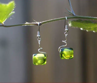 green grapes earrings by tonyautkina on etsy