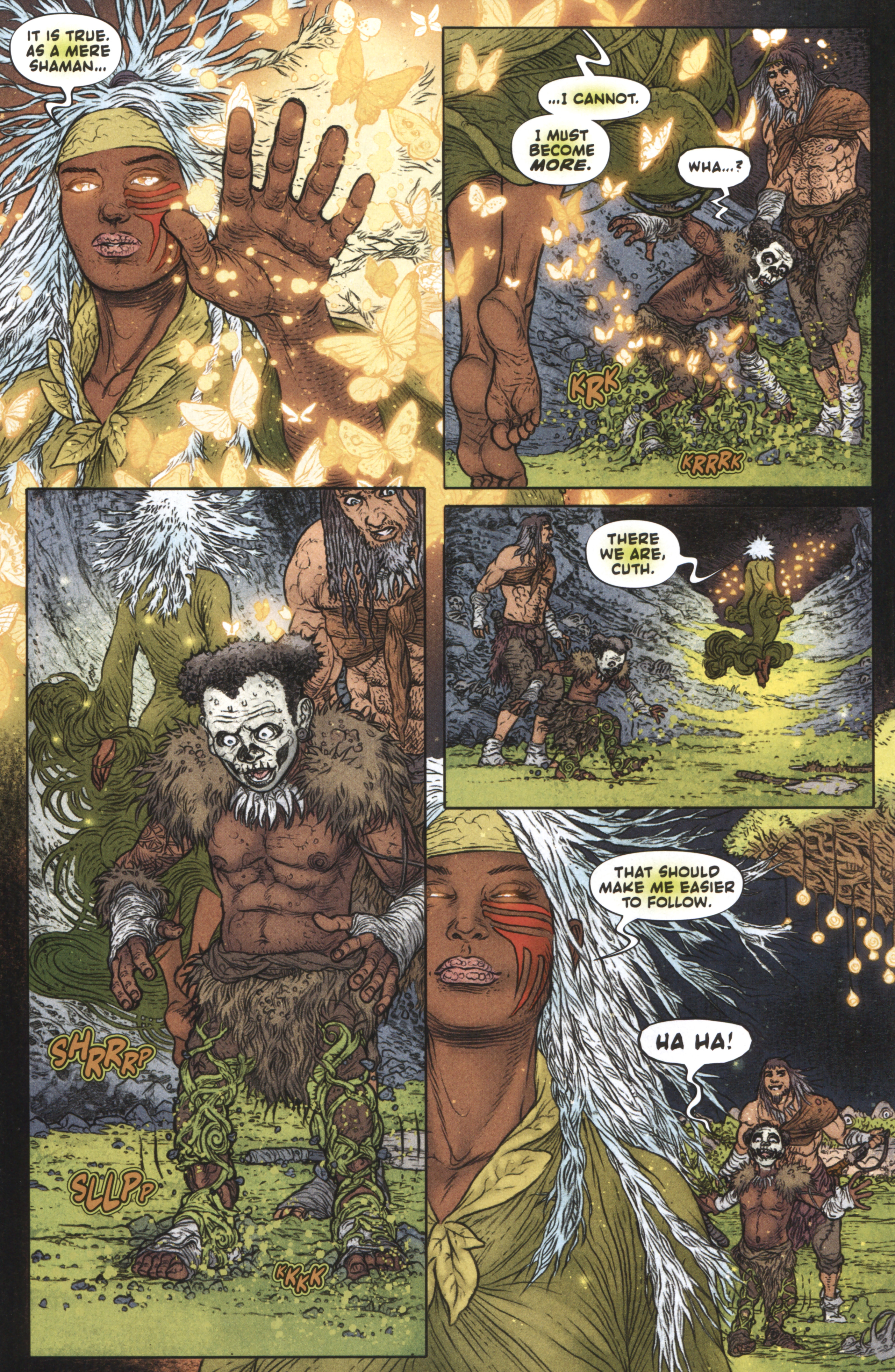 Read online Book of Death: Legends of the Geomancer comic -  Issue #3 - 11