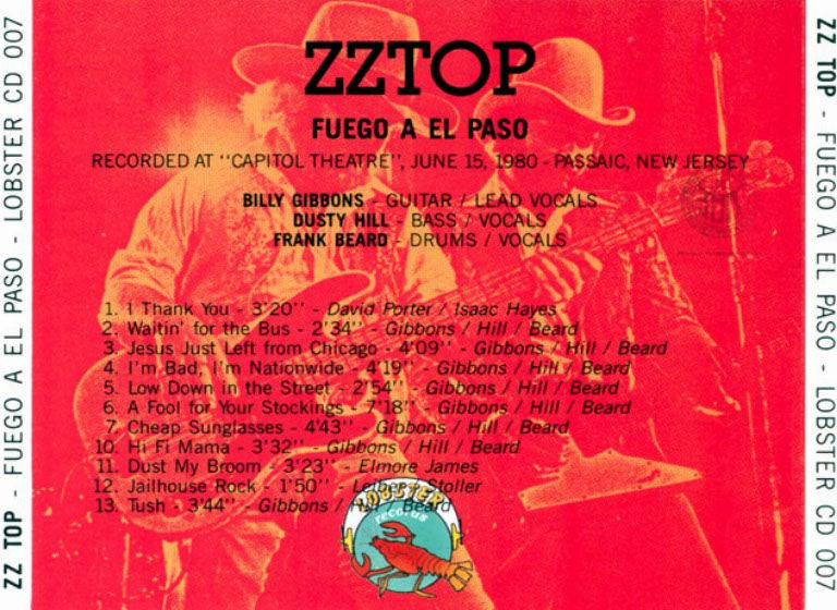 ZZ Top - 1980-06-15 - Capital Theatre,