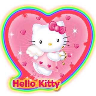 Hello Kitty Pink Cute Wallpaper Bergerak Allaboutkristine Valentines Day With Hello Kitty