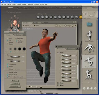 software program download free: Poser 7 Professional 3D Figure
