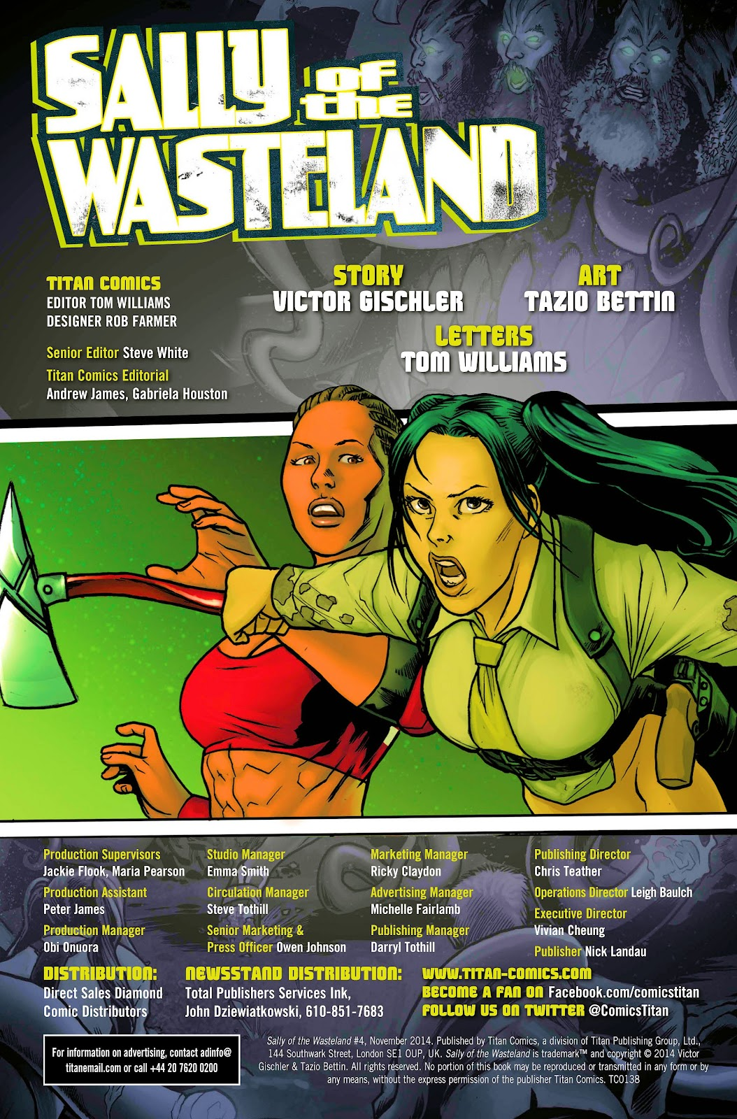 Sally of the Wasteland 4 Page 2