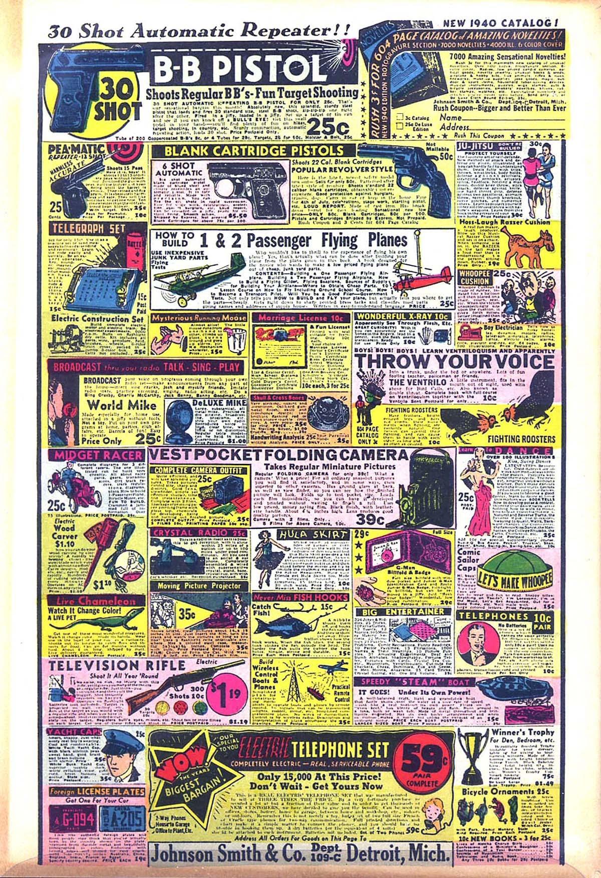 Read online Amazing Man Comics comic -  Issue #8 - 68
