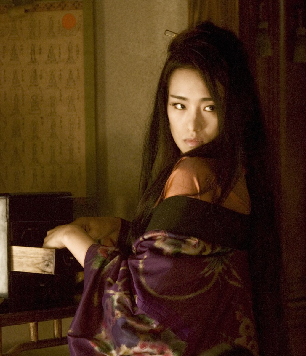 Sexy gong li Zhang Yimou