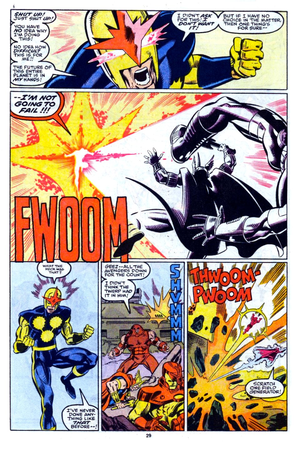 The New Warriors Issue #12 #16 - English 22