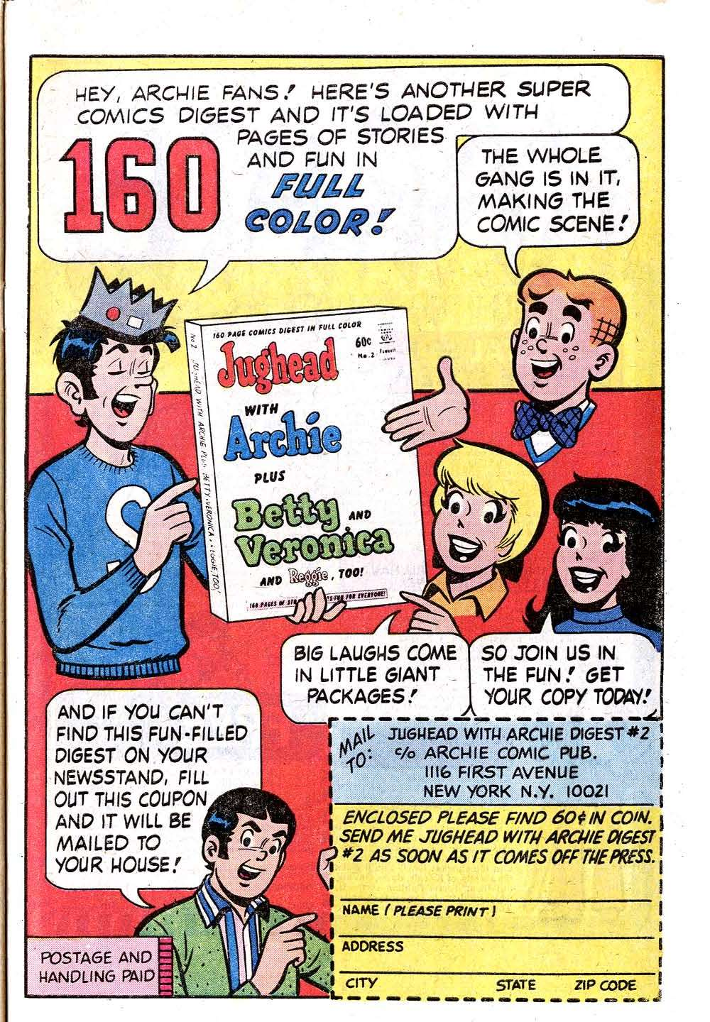 Read online Archie (1960) comic -  Issue #235 - 33