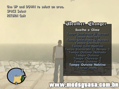 Wheater Changer Mod para GTA San Andreas