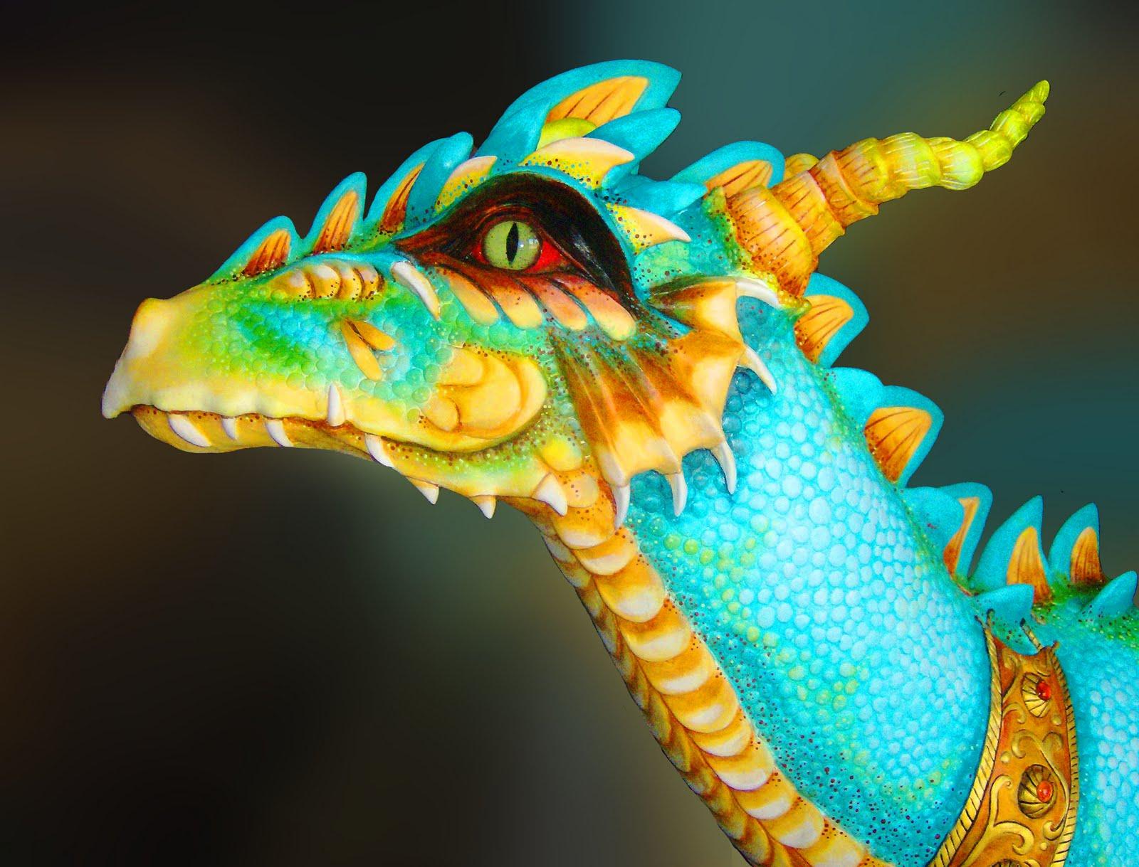 Art Gecko Studio Turquoise Dragon