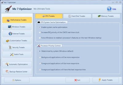 Optimizador para Windows 7