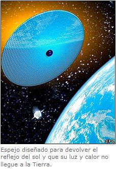Reflectores espaciales
