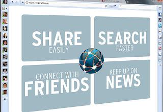 RockMelt, el navegador de las redes sociales