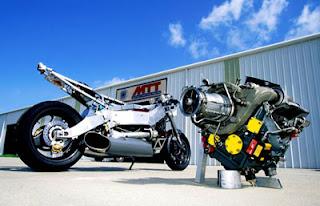 motocicleta mas rapida del mundo