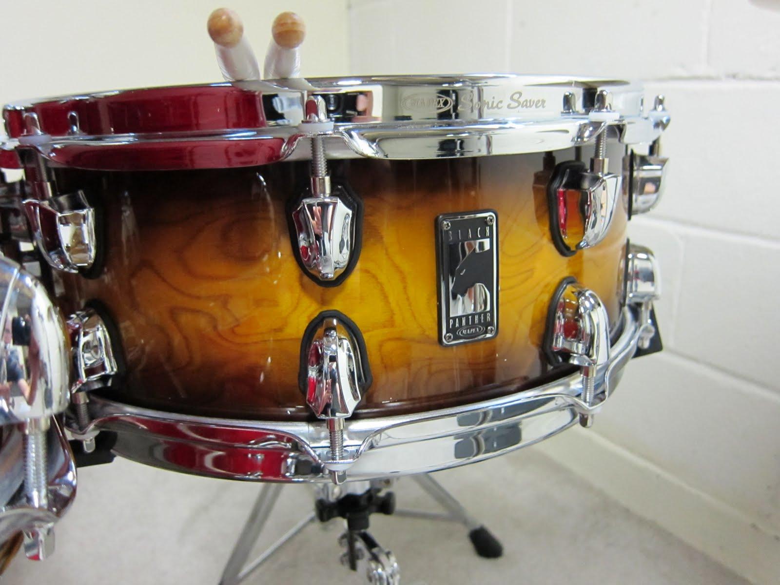 4fterthoughts my new drum set yamaha oak custom. Black Bedroom Furniture Sets. Home Design Ideas