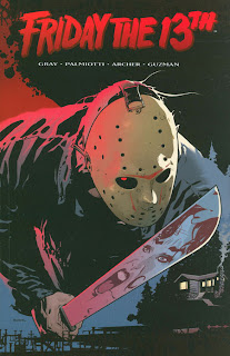 Review Friday the Thirteenth Vol. 1 Justin Gray Jimmy Palmiotti Adam Archer Ryan Sook Jason Voorhees Wildstorm Cover trade paperback tpb comic book