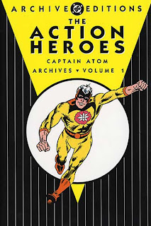 Review Action Heroes Archives Volume One Captain Atom Space Adventures Thunderbolt Steve Ditko Joe Gill David Kaler Rocke Mastroserio Blake Bell Doctor Spectro Nightshade DC Archives Archive Editions Charlton DC Comics Cover hardcover hc comic book