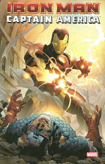 Review Iron Man Captain America Jim Cheung Stan Lee Mark Waid Denny O'Neil David Michelinie Mark Gruenwald Roy Thomas Dann Thomas James Robinson Kurt Busiek Roger Stern Don Heck Ron Garney Luke McDonnell Mark Bright Bob Layton Kieron Dwyer Jim Valentino Colin MacNeil Patrick Zircher Tales of Suspense Sentinel of Liberty Civil War Iron Man versus Captain America Marvel Cover trade paperback tpb comic book
