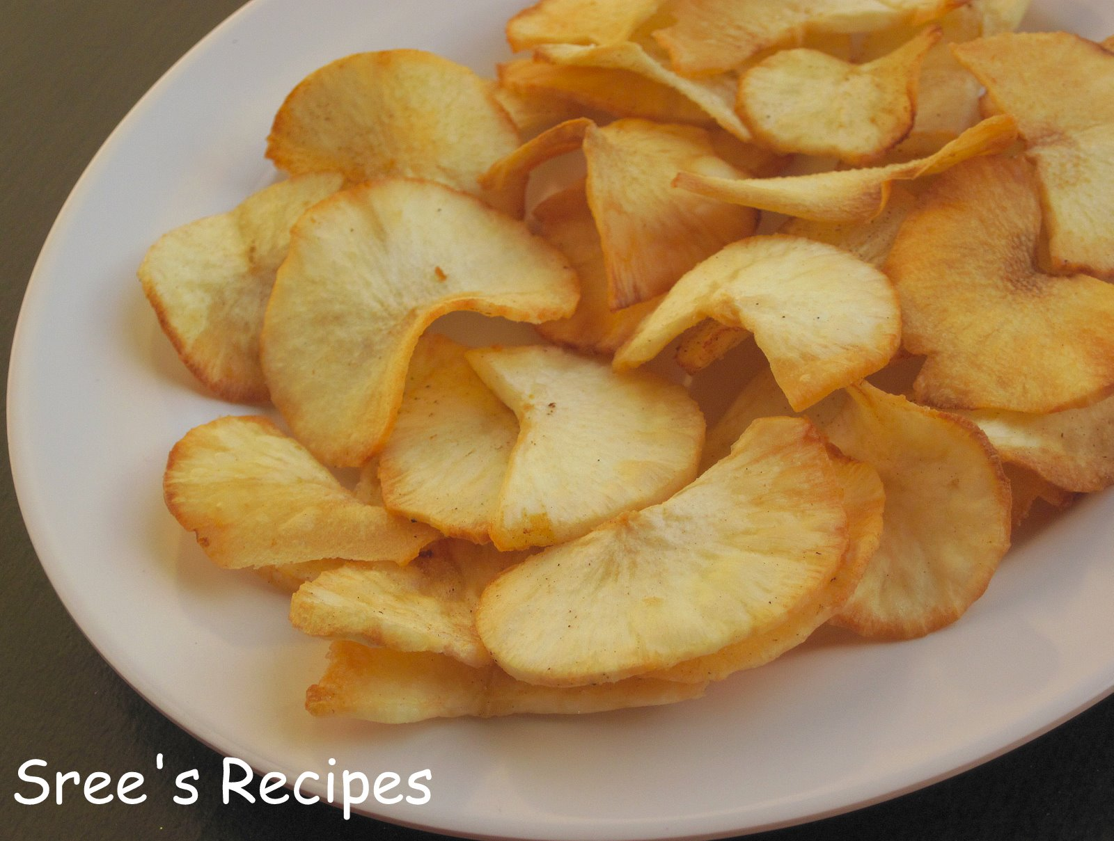 Srees Recipes KappaTapioca Chips