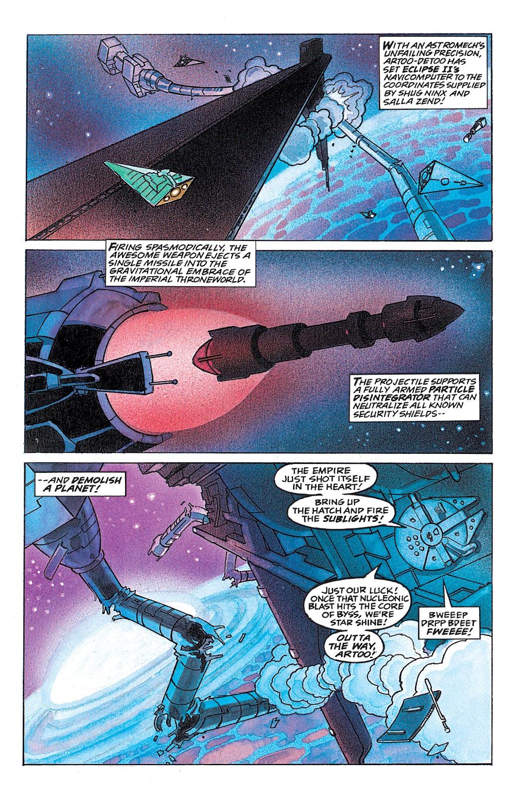 Read online Star Wars: Dark Empire Trilogy comic -  Issue # TPB (Part 4) - 56