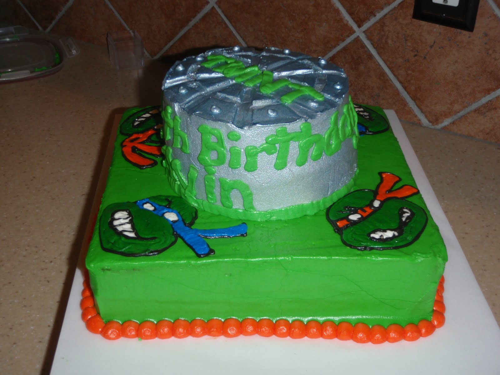 Homemade Ninja Turtle Cake Ideas And Designs