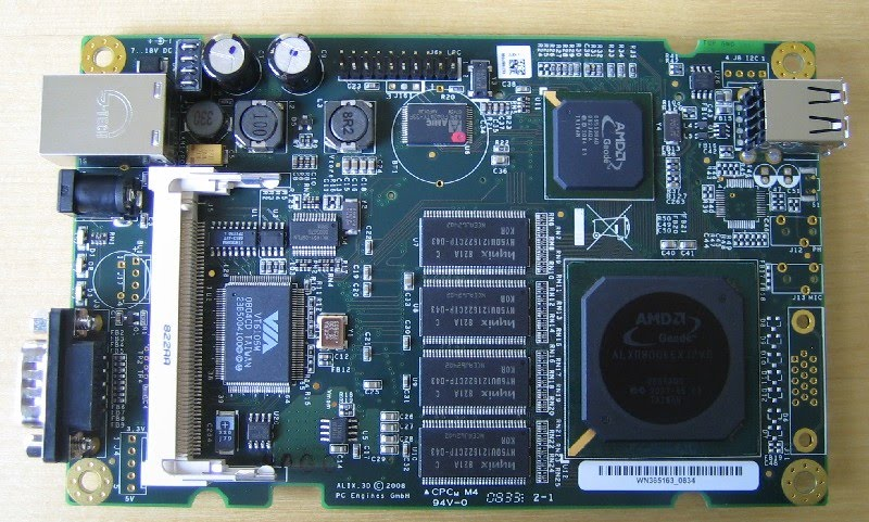 GNU Open Source Device Porting: Embedded Linux on PC Engines