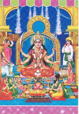 Nine Forms of Goddess Worship on Navratri