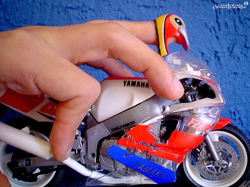 Moto Yamaha de colecionador