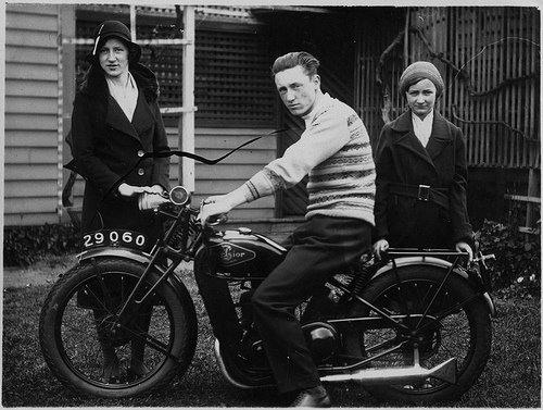 Moto do século passado