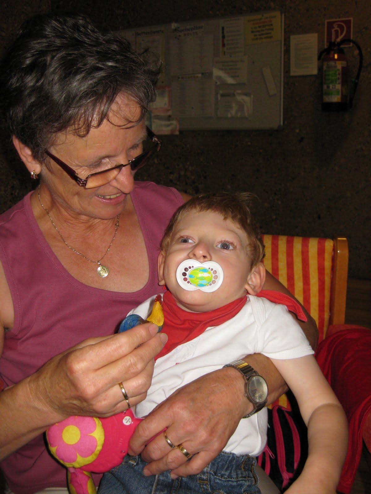 Zu Fick Besuch bei Oma