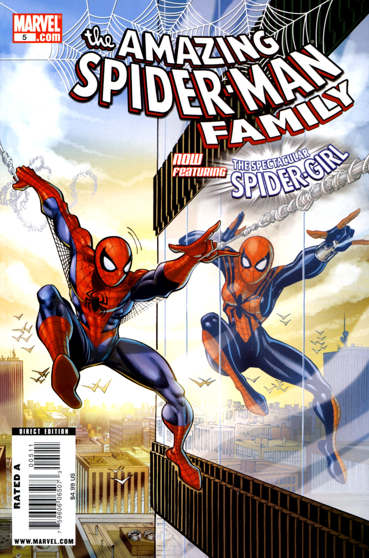 Amazing Spider-Man Family 5 Page 1