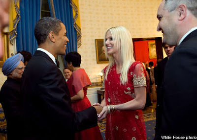 Obama charmed his way to the Presidency and now woman Salahi charms her way to Obama's White House dinner!: Obama's Guest Who's Coming to Dinner? How secure is the President? Many questions arise.