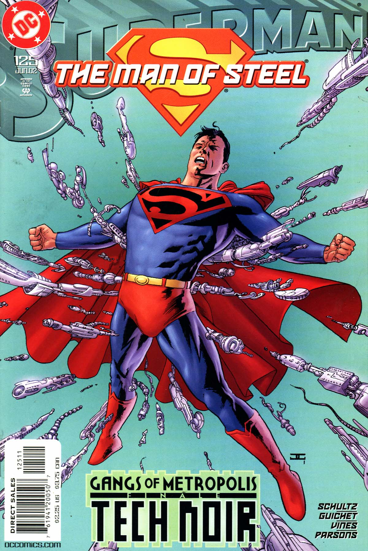 Read Online Superman The Man Of Steel 1991 Comic Issue 125