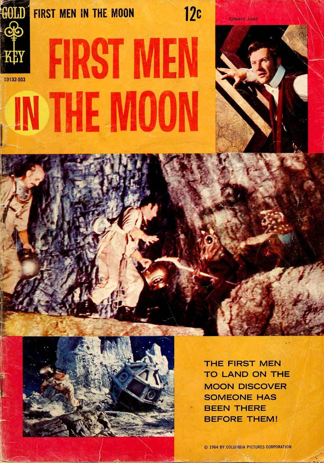 First Men IN the Moon issue Full - Page 1