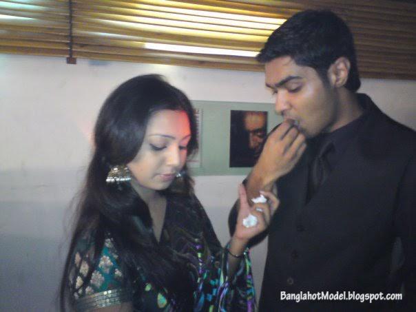 Sadia Jahan Prova And EX-boyfried Rajib Together Pics