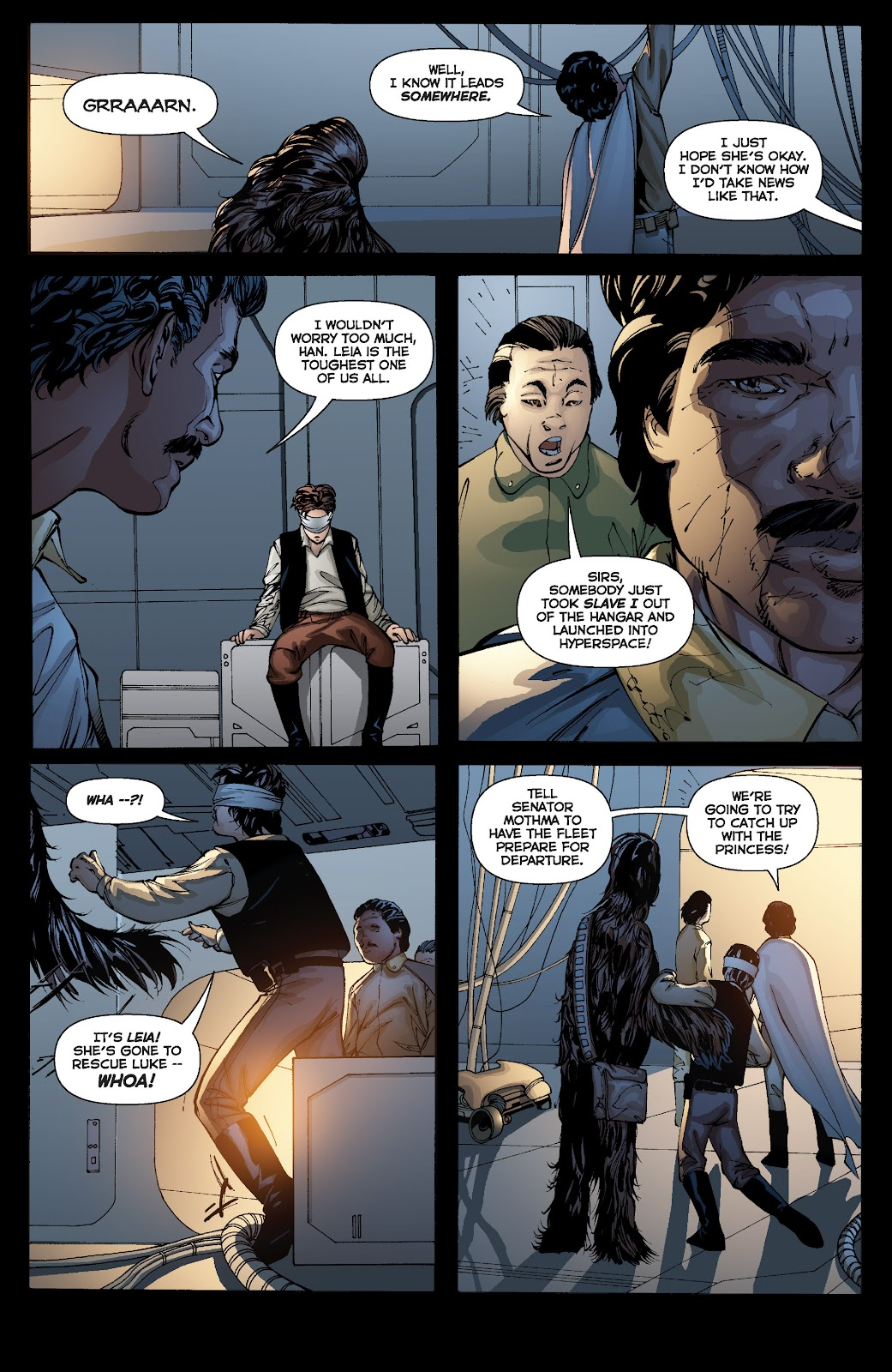 Read online Star Wars Legends: Infinities - Epic Collection comic -  Issue # TPB (Part 3) - 60