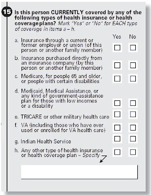 Census Adds Question About Health Insurance
