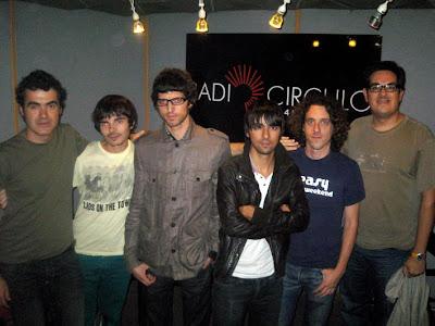 Con Jordi, Iván, Pau e Isra de Stay