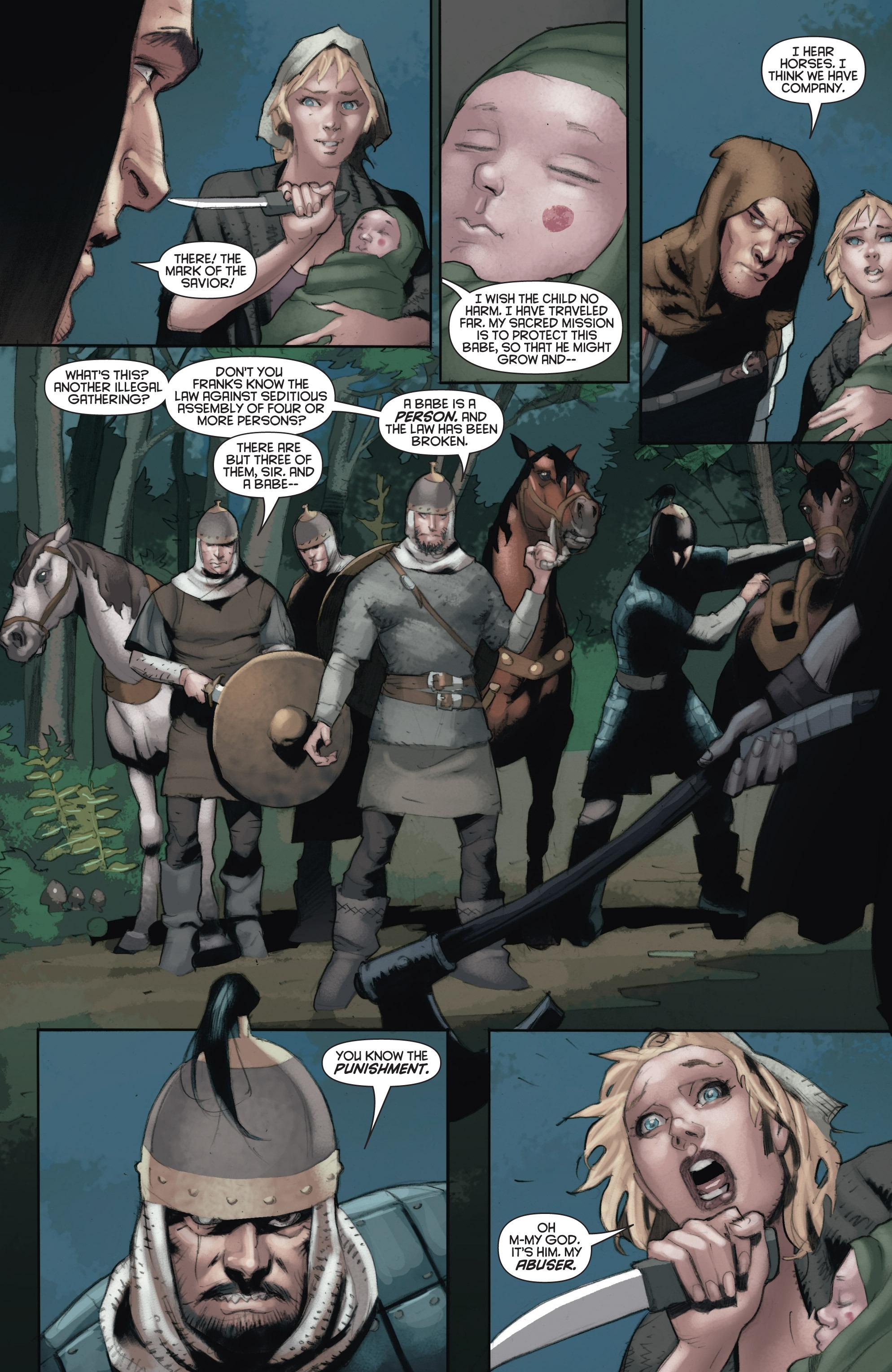 Read online Eternal Warrior: Days of Steel comic -  Issue #1 - 20