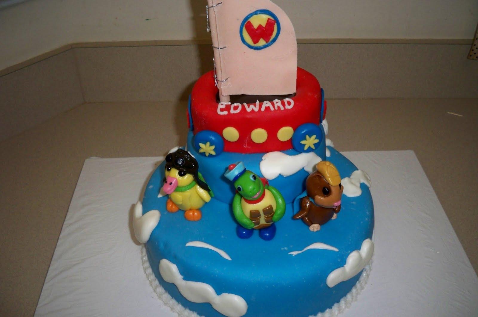 Quot Grace Of Cakes Quot Wonder Pets Cake For Little Boy S 1st