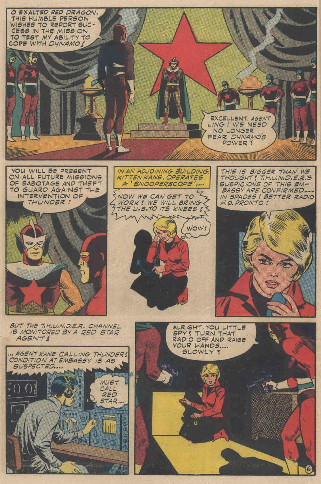 T.H.U.N.D.E.R. Agents (1965) issue 6 - Page 8