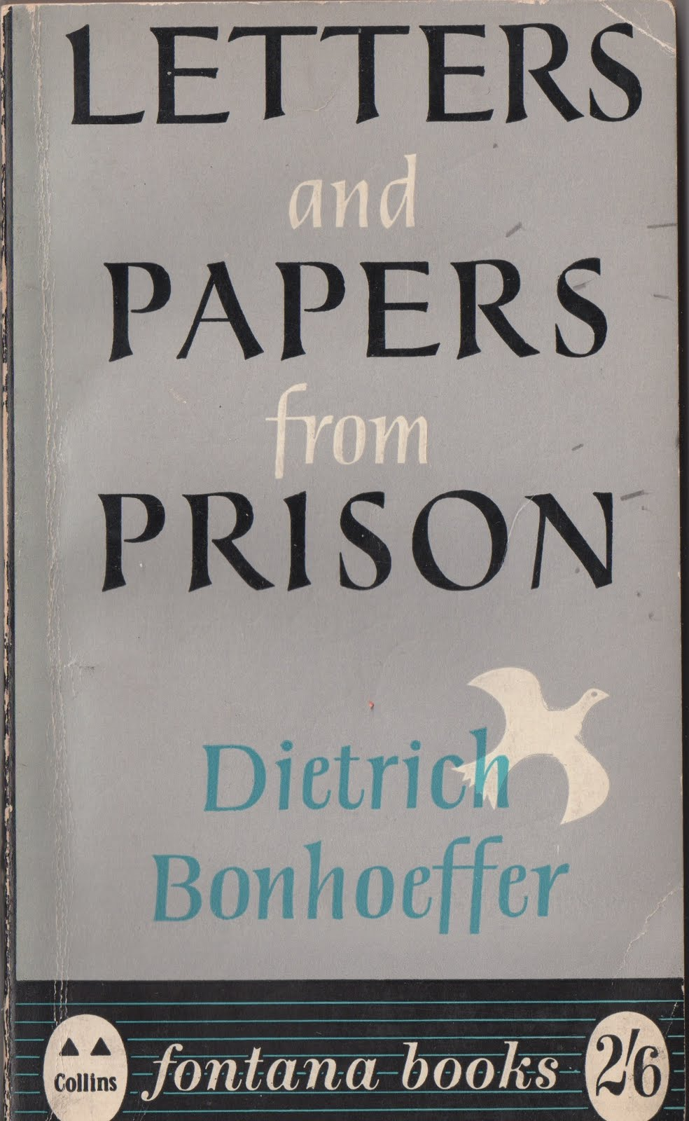 Stuck on Record: Book Covers: Letters and Papers from Prison