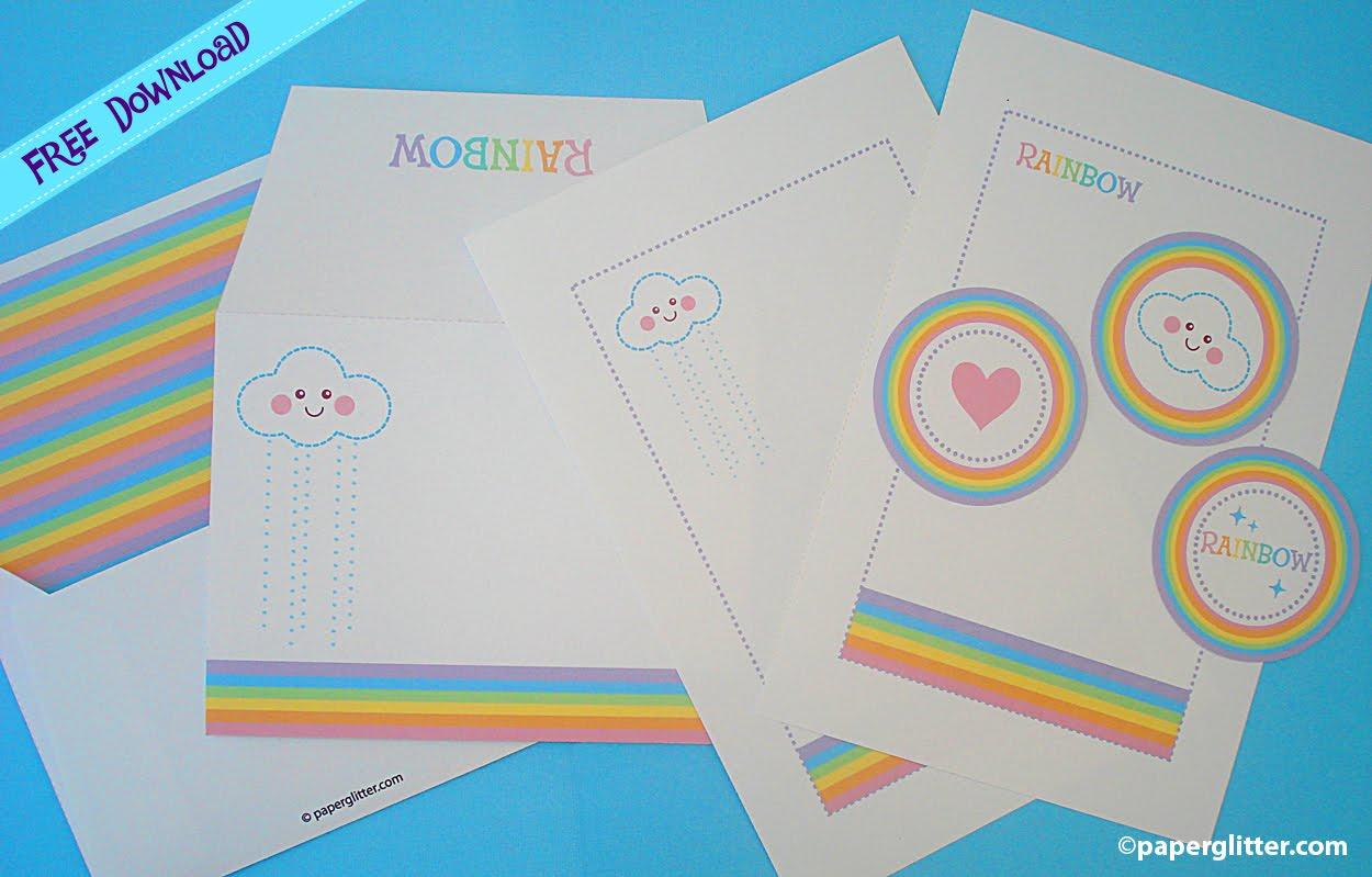 Free Printable Party Printable Kawaii Paper Crafts Kids Crafts Stationery Printable Free
