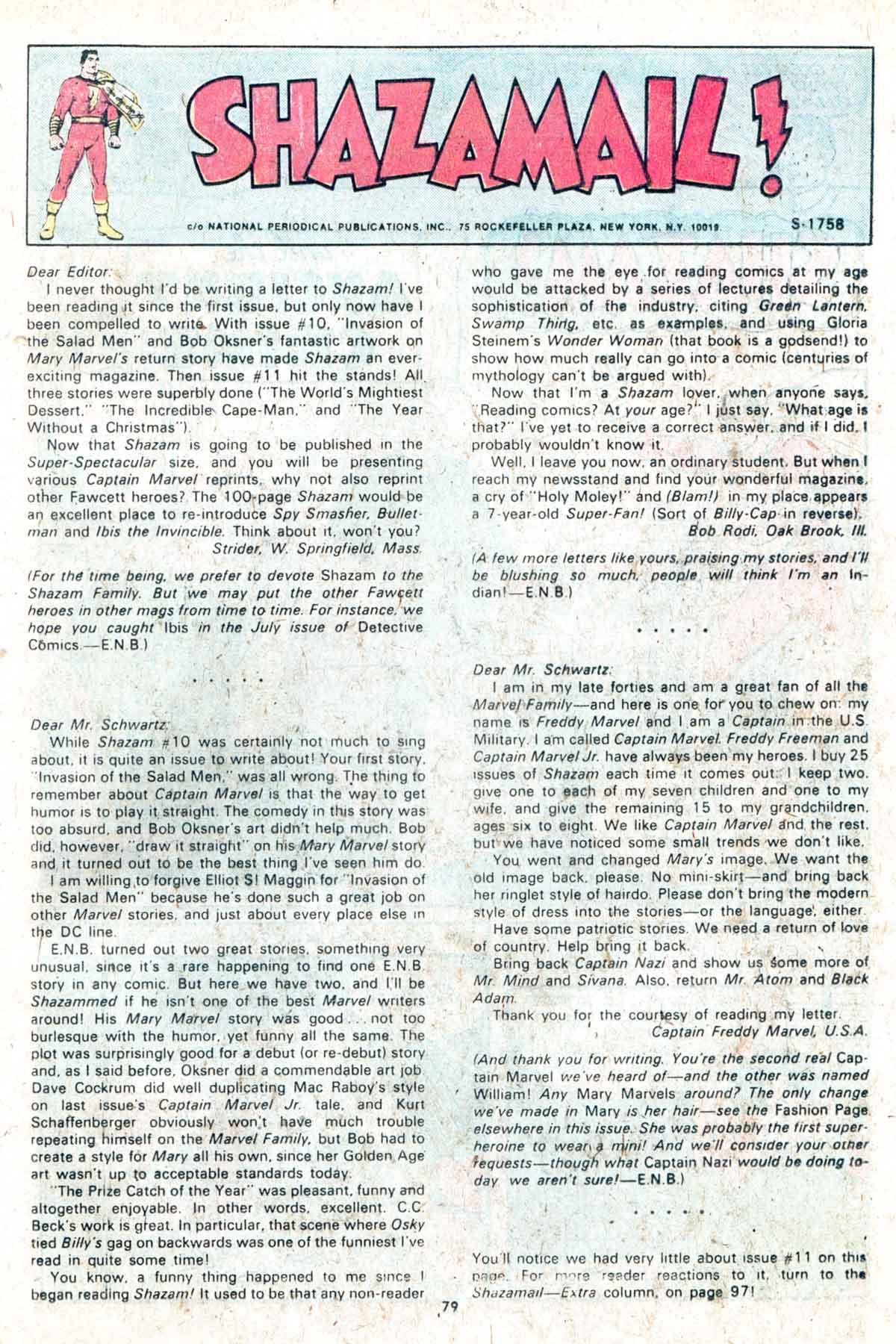Read online Shazam! (1973) comic -  Issue #13 - 80
