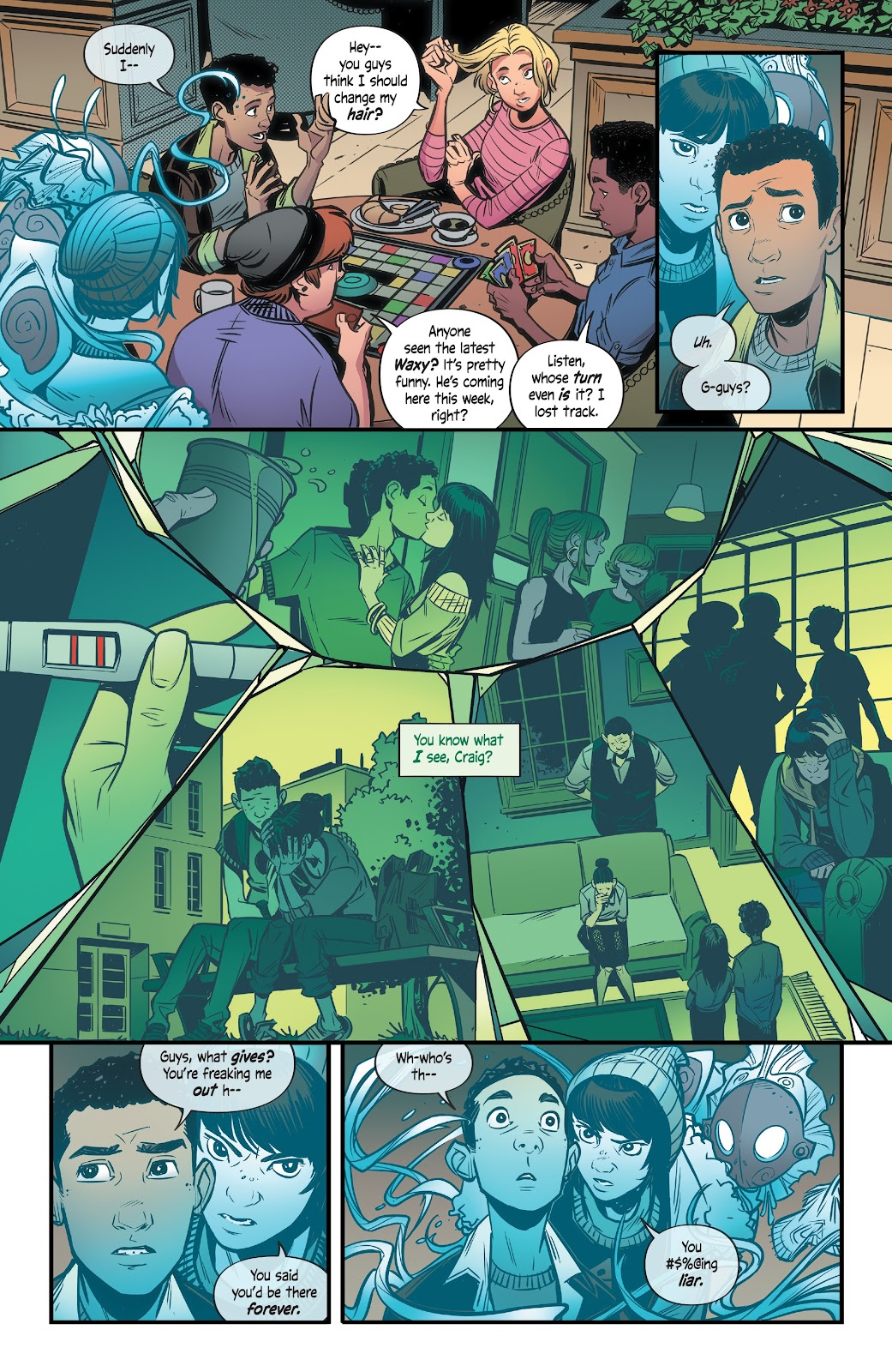 Read online Alienated comic -  Issue #3 - 10