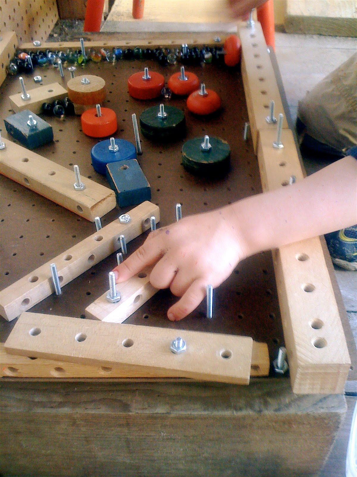 Teacher Tom A Homemade Pinball Machine