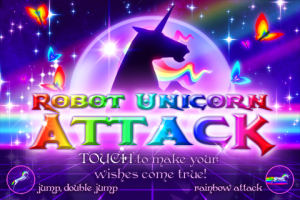 IMG_0049-2-300x200 Robot Unicorn Attack para iPhone em breve
