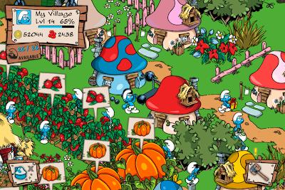 IMG_0020 'Colheita Feliz' com Smurfs e Grátis? Sim, é verdade!