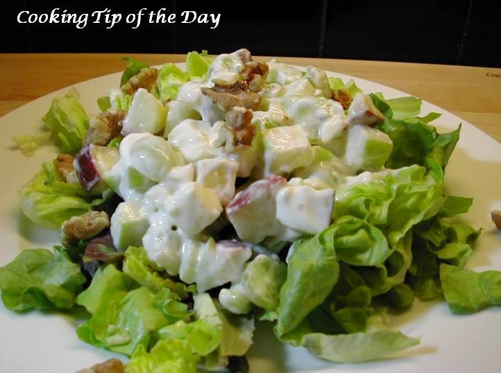 Cooking Tip of the Day: Recipe: Waldorf Salad