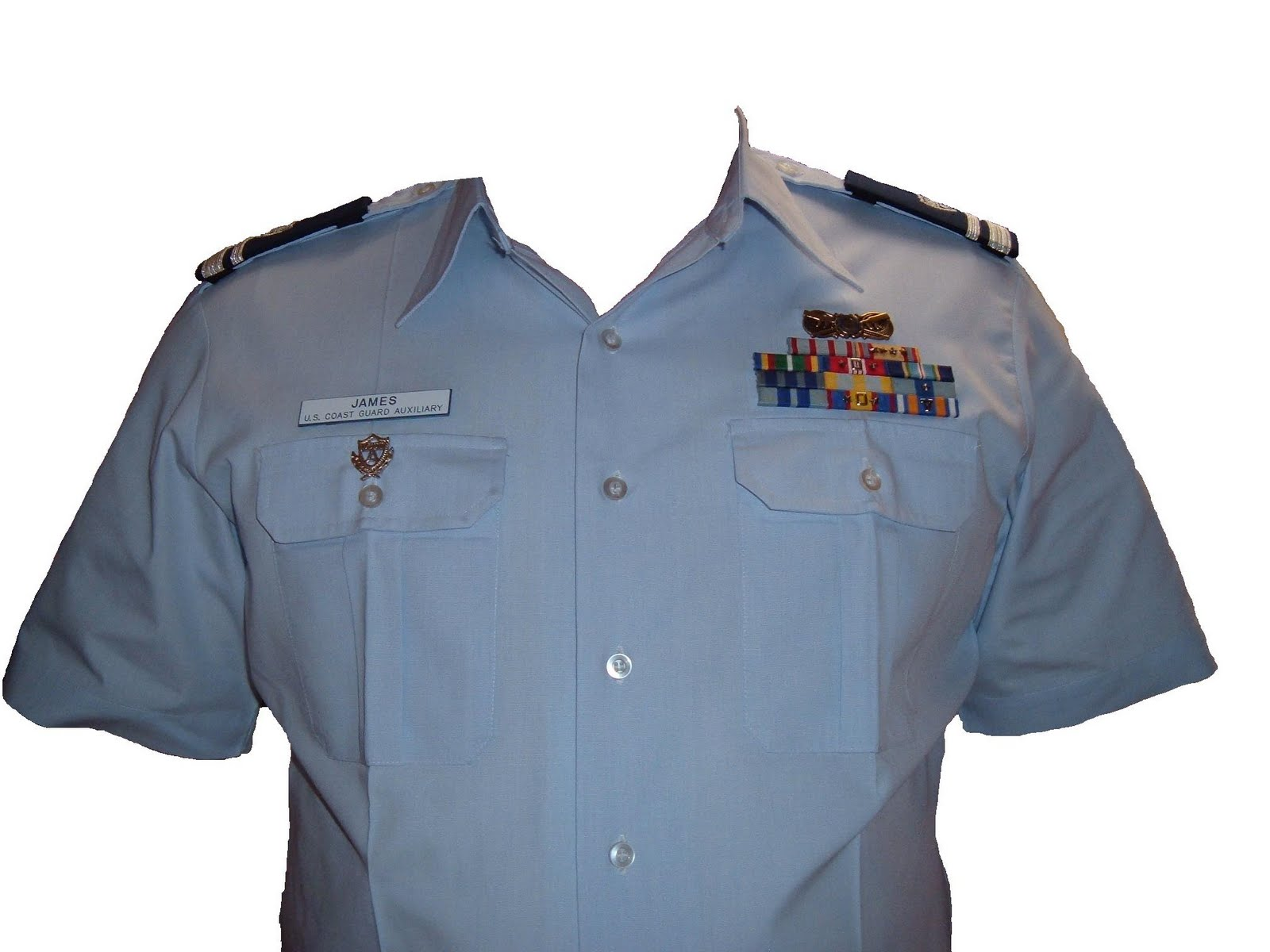 Coast Guard Tropical Blue Uniform 81
