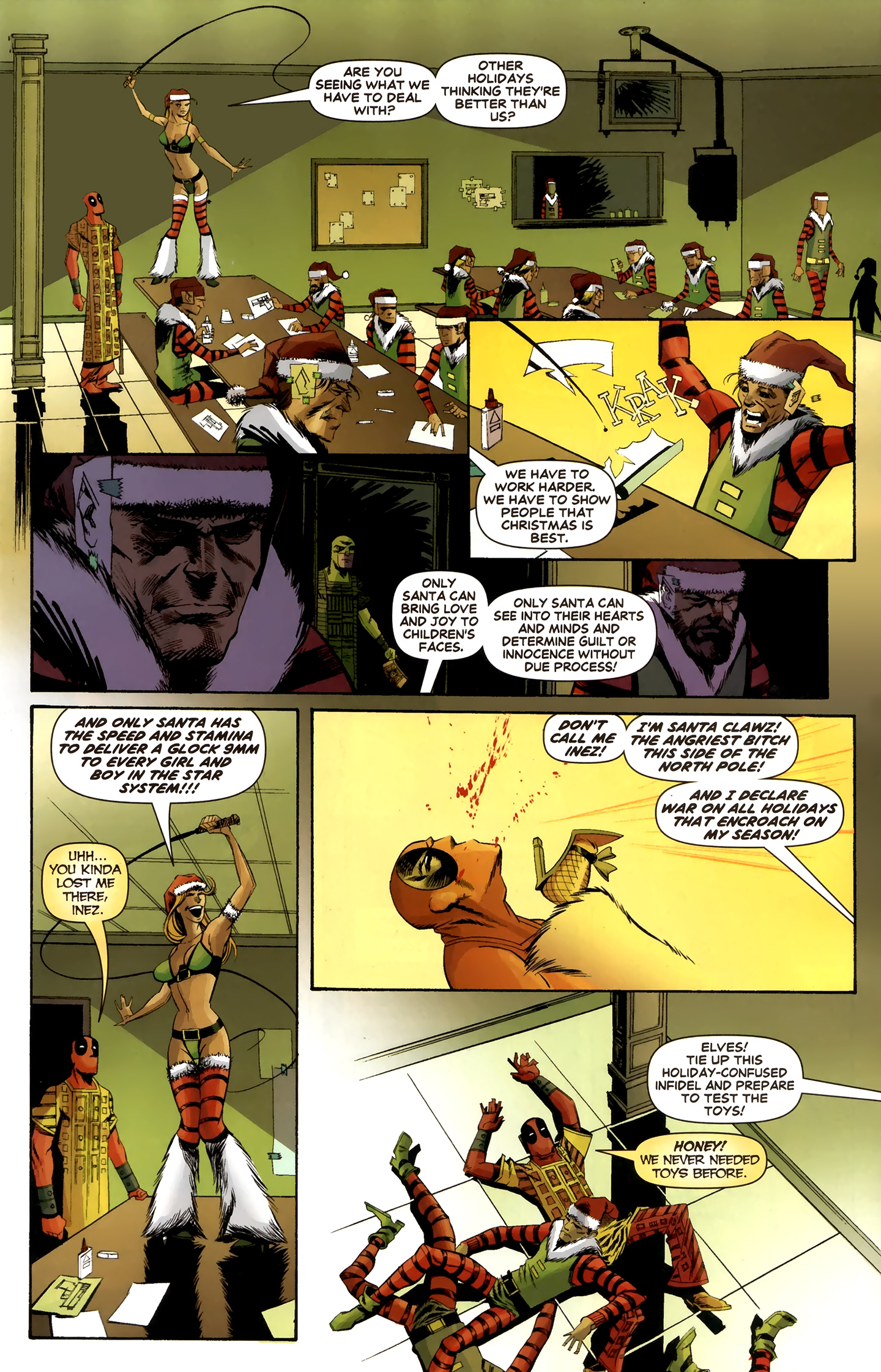 Read online Deadpool MAX X-Mas Special comic -  Issue # Full - 27