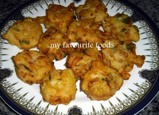 Cheese pakoda!